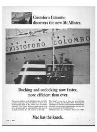 Maritime Reporter Magazine, page 1,  Apr 1970