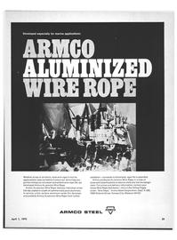Maritime Reporter Magazine, page 33,  Apr 1970