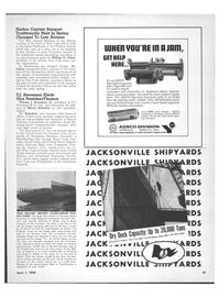 Maritime Reporter Magazine, page 35,  Apr 1970
