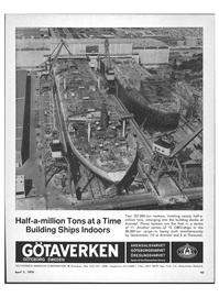 Maritime Reporter Magazine, page 41,  Apr 1970