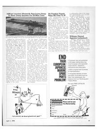 Maritime Reporter Magazine, page 45,  Apr 1970