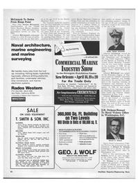 Maritime Reporter Magazine, page 50,  Apr 1970