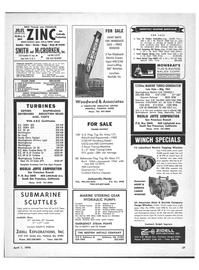 Maritime Reporter Magazine, page 55,  Apr 1970