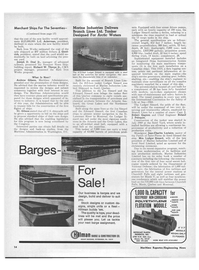 Maritime Reporter Magazine, page 12,  Jun 15, 1970