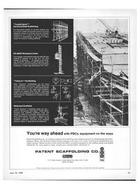 Maritime Reporter Magazine, page 13,  Jun 15, 1970