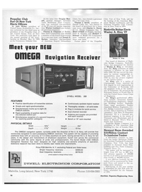 Maritime Reporter Magazine, page 16,  Jun 15, 1970