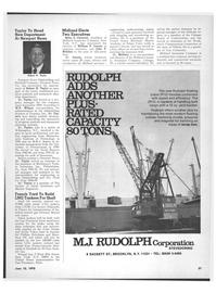 Maritime Reporter Magazine, page 19,  Jun 15, 1970