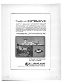 Maritime Reporter Magazine, page 25,  Jun 15, 1970