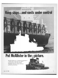 Maritime Reporter Magazine, page 1,  Jun 15, 1970