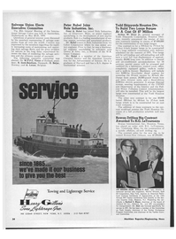Maritime Reporter Magazine, page 32,  Jun 15, 1970