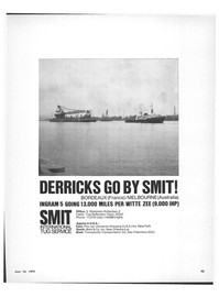 Maritime Reporter Magazine, page 41,  Jun 15, 1970