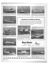 Maritime Reporter Magazine, page 13,  Jan 1971