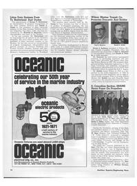 Maritime Reporter Magazine, page 14,  Jan 1971