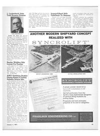 Maritime Reporter Magazine, page 23,  Jan 1971