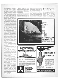 Maritime Reporter Magazine, page 29,  Jan 1971