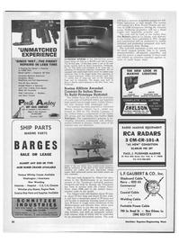 Maritime Reporter Magazine, page 30,  Jan 1971