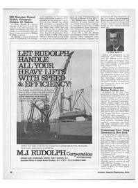 Maritime Reporter Magazine, page 38,  Jan 1971