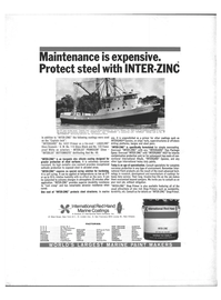 Maritime Reporter Magazine, page 4th Cover,  Jan 1971
