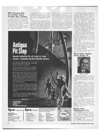 Maritime Reporter Magazine, page 12,  Mar 1971