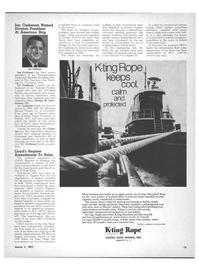 Maritime Reporter Magazine, page 13,  Mar 1971