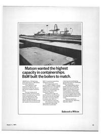 Maritime Reporter Magazine, page 19,  Mar 1971