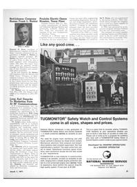Maritime Reporter Magazine, page 29,  Mar 1971