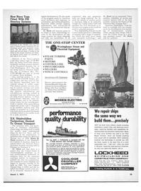 Maritime Reporter Magazine, page 33,  Mar 1971
