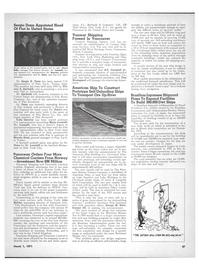 Maritime Reporter Magazine, page 35,  Mar 1971