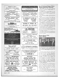 Maritime Reporter Magazine, page 39,  Mar 1971