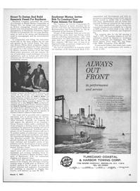 Maritime Reporter Magazine, page 41,  Mar 1971