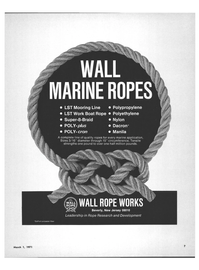 Maritime Reporter Magazine, page 5,  Mar 1971