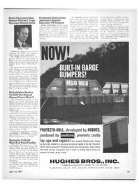 Maritime Reporter Magazine, page 11,  Apr 15, 1971 Joseph J. Kleschick