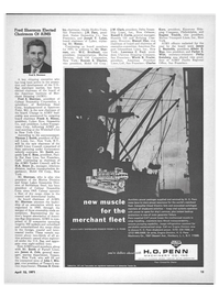 Maritime Reporter Magazine, page 13,  Apr 15, 1971 Russell C. Curtis