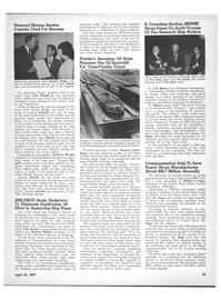 Maritime Reporter Magazine, page 19,  Apr 15, 1971 South America