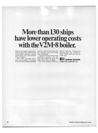 Maritime Reporter Magazine, page 20,  Apr 15, 1971 Combustion Engineering Inc.