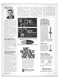Maritime Reporter Magazine, page 25,  Apr 15, 1971 Les W. Jockers