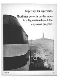Maritime Reporter Magazine, page 1,  Apr 15, 1971