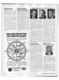 Maritime Reporter Magazine, page 28,  Apr 15, 1971 New Brunswick