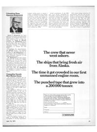 Maritime Reporter Magazine, page 29,  Apr 15, 1971 New York