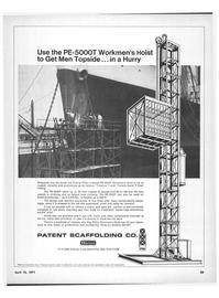 Maritime Reporter Magazine, page 31,  Apr 15, 1971 Harsco Corporation