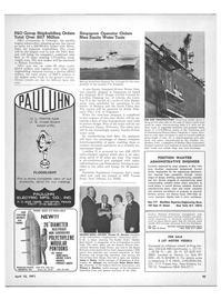 Maritime Reporter Magazine, page 43,  Apr 15, 1971 California