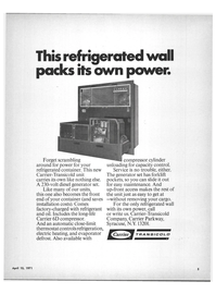 Maritime Reporter Magazine, page 3,  Apr 15, 1971 Comes factory
