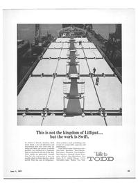 Maritime Reporter Magazine, page 23,  Jun 1971