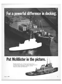 Maritime Reporter Magazine, page 1,  Jun 1971
