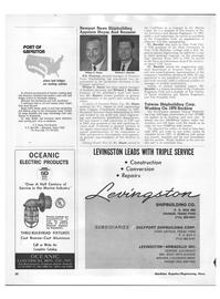Maritime Reporter Magazine, page 34,  Jun 1971