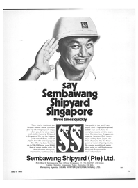 Maritime Reporter Magazine, page 13,  Jul 1971