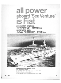 Maritime Reporter Magazine, page 25,  Jul 1971