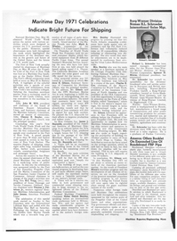 Maritime Reporter Magazine, page 3rd Cover,  Jul 1971