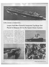 Maritime Reporter Magazine, page 12,  Aug 15, 1971 E. Bronson Ingram