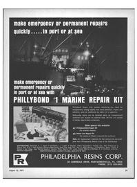 Maritime Reporter Magazine, page 21,  Aug 15, 1971 Europe